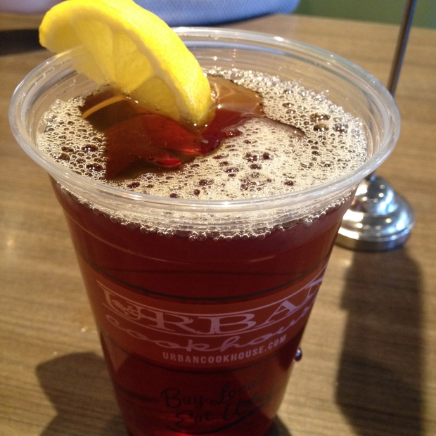 Sweet Tea (my favorite of all of Spring Break) from Urban Cookhouse in Birmingham, AL